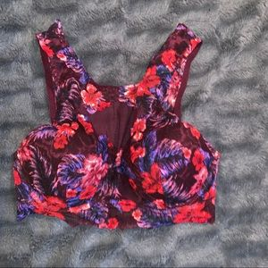 Women's Victoria Secret lace and mesh bralette